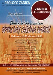 Zanica 2012 Open day cascina Baresi